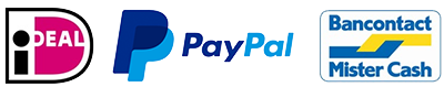 betaalmethoden: iDeal, PayPal, Bancontact of overmaken