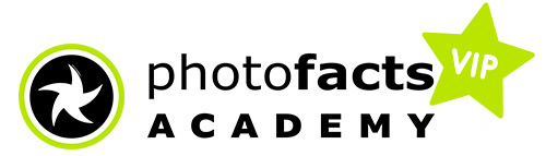 Photofacts Academy VIP logo