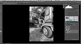 Van Camera Raw naar Photoshop