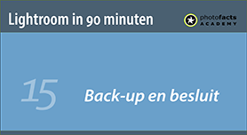 Backup en besluit
