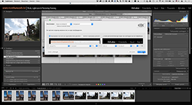 De Lightroom interface personaliseren