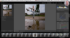 De Lightroom Puntcurve