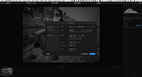 Batch-processing in Luminar