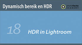 HDR in Lightroom