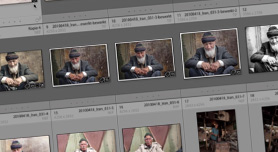 Rasterweergave personaliseren in Lightroom