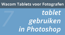Tablet gebruiken in Photoshop